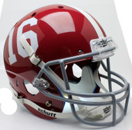 Alabama Crimson Tide #16 Schutt Full Size Replica Helmet