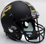 Purdue Boilermakers Alternate Black Schutt Full Size Replica Helmet