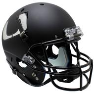 Miami Hurricanes Alternate Black Schutt Full Size Replica Helmet