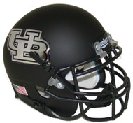 Buffalo Bulls Alternate Black Schutt Mini Authentic Helmet