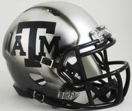 Texas A&M Aggies Alternate ICE HYDRO NCAA Riddell SPEED Mini Helmet