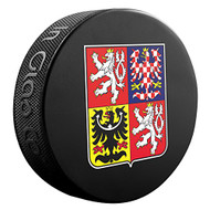 2016 World Cup of Hockey Team Czech Republic Logo Souvenir Hockey Puck