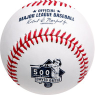 DAVID ORTIZ 500 HOME RUNS COMMEMORATIVE BOSTON RED SOX MLB BASEBALL