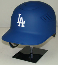 Los Angeles Dodgers MATTE BLUE Rawlings Coolflo REC Full Size Baseball Batting Helmet