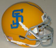 San Jose State Spartans Alternate Gold Schutt Mini Authentic Helmet