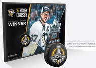 2016 Pittsburgh Penguins Stanley Cup Sidney Crosby CONN SMYTHE TROPHY WINNER Wall Plaque