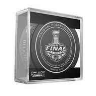 2016 NHL Stanley Cup Finals Playoff Sherwood Official Game Puck - Game 6 (Six)