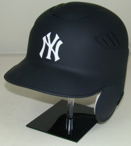 New York Yankees Matte Rawlings Coolflo LEC Full Size Baseball Batting Helmet