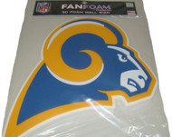 Los Angeles Rams Throwback 3D Fan Foam Logo Sign