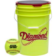 Diamond 18 Bucket Combo (includes 18 12YSC Softballs)
