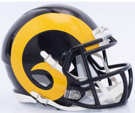 Los Angeles Rams Retro Color Rush Revolution SPEED Mini Helmet