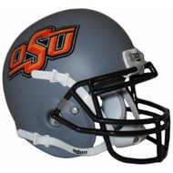 Oklahoma State Gray Cowboys Schutt Mini Authentic Helmet