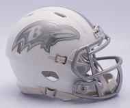 NFL Baltimore Ravens Riddell Ice Alternate Speed Mini Replica Helmet