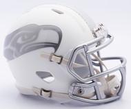 NFL Seattle Seahawks Riddell Ice Alternate Speed Mini Replica Helmet