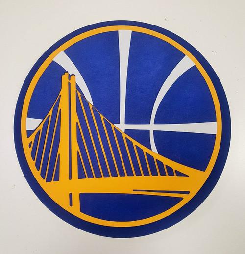 Golden State Warriors 3D Fan Foam Logo Sign