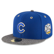 Men's Chicago Cubs New Era 2016 MLB All-Star Game Patch 59FIFTY Fitted Hat / Cap