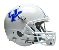 Kentucky Wildcats White Schutt Full Size Replica Helmet
