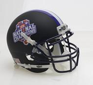 Clemson Tigers Alternate BLACK Special FBS NCAA National Champions Schutt Authentic Mini Helmet