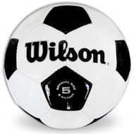 Wilson Synthetic Traditional Leather Soccer Ball Size 5