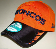 DENVER BRONCOS ORANGE New Era 9FORTY NFL ADJUSTABLE BASEBALL HAT / CAP