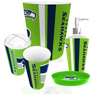 Seattle Seahawks 5 Piece Bathroom Set