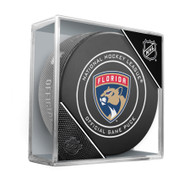 Florida Panthers New Logo 2016-17 Sherwood Official NHL Game Puck in Cube