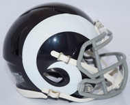 Los Angeles Rams White Retro Color Rush Revolution SPEED Mini Helmet