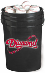 Diamond Batting Practice 30 Bucket Combo (includes 30 DBP Baseballs)