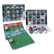 NFL Football 32 Team Helmet Standings Tracker Display Set