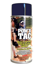 Pow'r Tac Spray-on Tackifier For Baseball Bats (Like Pine Tar)