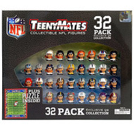 "The Party Animal Teeny Mates 1"" NFL Collectible Figures Quarterback Gift Set"