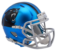 Carolina Panthers Riddell Speed Mini Helmet - Blaze Alternate