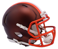 Cleveland Browns Riddell Speed Mini Helmet - Blaze Alternate