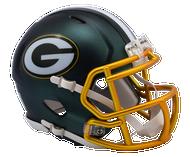 Green Bay Packers Riddell Speed Mini Helmet - Blaze Alternate