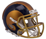 Los Angeles Rams Riddell Speed Mini Helmet - Blaze Alternate