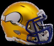 Minnesota Vikings Riddell Speed Mini Helmet - Blaze Alternate