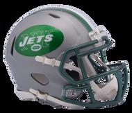 New York Jets Riddell Speed Mini Helmet - Blaze Alternate 2017