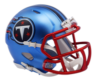 Tennessee Titans Riddell Speed Mini Helmet - Blaze Alternate