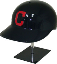 Cleveland Indians All Blue Road Rawlings Classic NEC Full Size Baseball Batting Helmet
