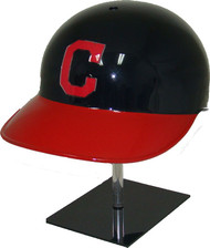 Cleveland Indians Blue/Red Home Rawlings Classic NEC Full Size Baseball Batting Helmet