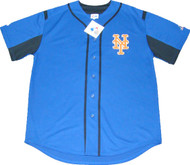 New York Mets Majestic MLB Men's Official Blue Jersey