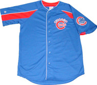 Chicago Cubs Blue Majestic MLB Men's Official Jersey