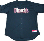 Arizona Diamondbacks Black Majestic MLB Men's Official Jersey