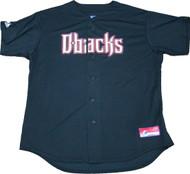 Arizona Diamondbacks Black Majestic MLB Men's Official Jersey