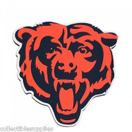 Chicago Bears 3D Fan Foam Logo Sign - Bear Head