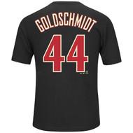 Paul Goldschmidt #44 Arizona Diamondbacks MLB Men's Player Name & Number T-Shirt
