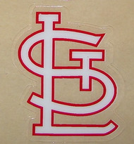 SAINT LOUIS CARDINALS FULL SIZE HELMET 3M STICKER DECAL