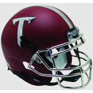 Troy State Trojans Alternate Matte Crimson Schutt Mini Authentic Helmet