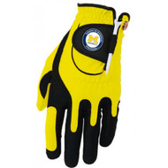 Zero Friction NCAA Michigan Wolverines Yellow Golf Glove, Left Hand