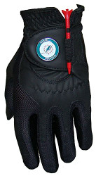 Zero Friction NFL Miami Dolphins Black Golf Glove, Left Hand